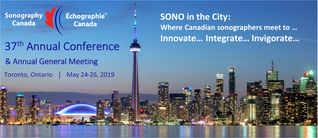 2019 Annual Conference - Toronto, On - Sonography Canada