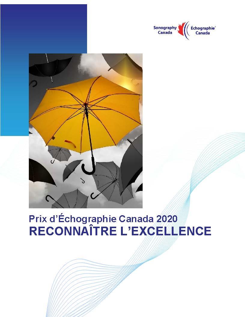 Édition spéciale - Prix 2020 d'Échographie Canada