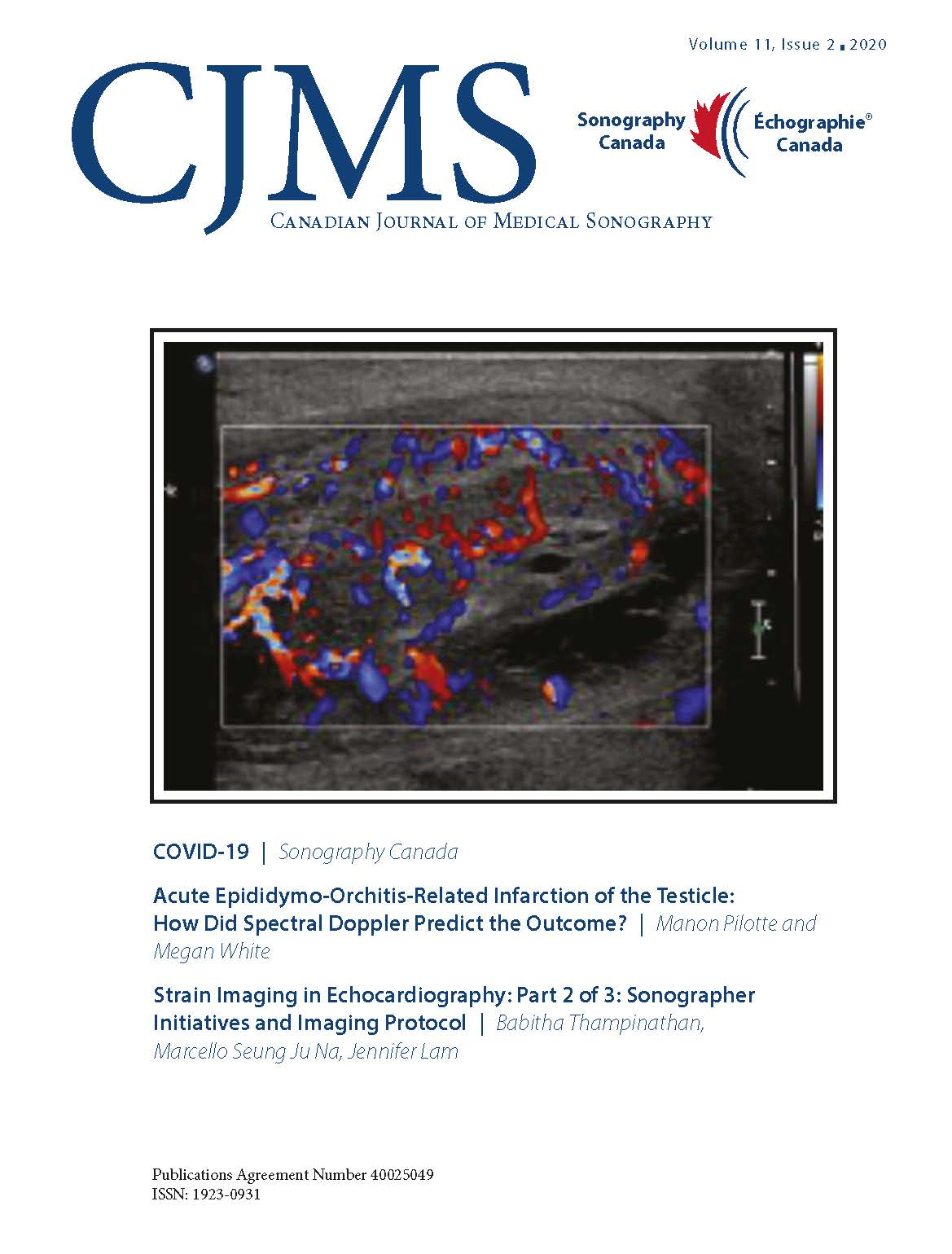 CJMS Volume 11, Issue 2 front page
