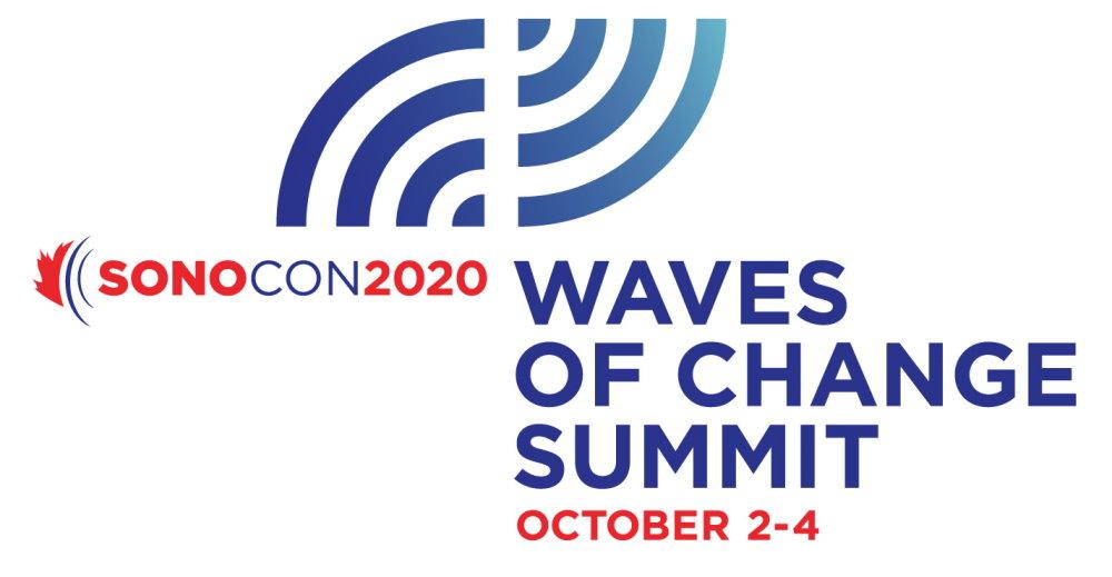 Sonocon 2020 - waves of change summit logo