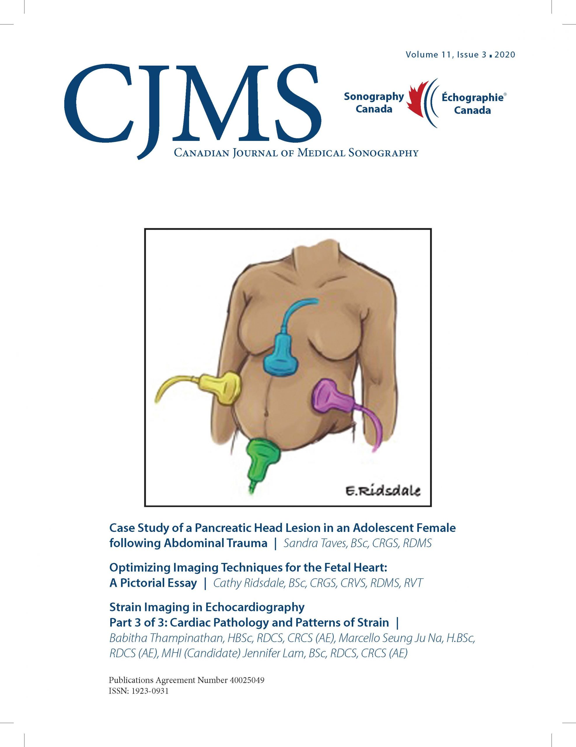 CJMS Volume 11, Issue 3 front page